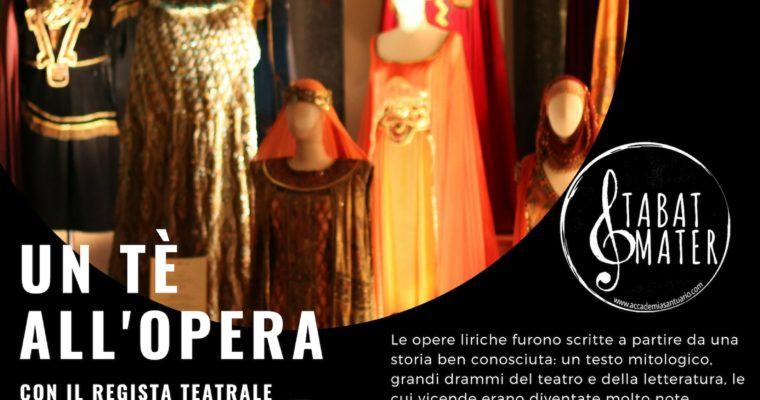 """Un tè all'Opera! 3 aprile – ore 17.00 – """"La Bohème"""""""