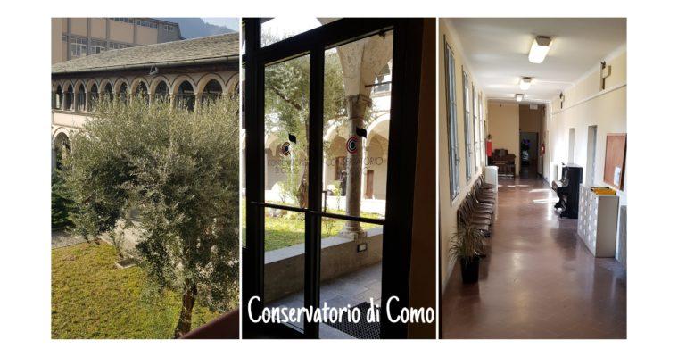 """La nostra Accademia è CONVENZIONATA CON IL CONSERVATORIO """"G.VERDI"""" DI COMO"""